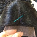 16 inch Vietnamese Hair Middle Lace Closure 4x4