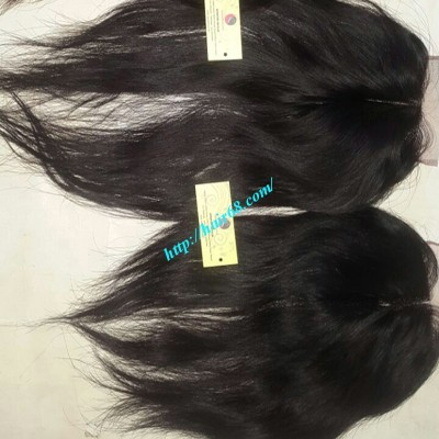 16 INCHES MIDDLE PART LACE CLOSURE STRAIGHT 4x4