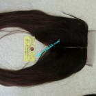 18 inch Vietnamese Hair Middle Lace Closure 4x4