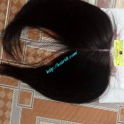24 INCHES MIDDLE PART LACE CLOSURE STRAIGHT 4x4