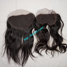 Free Part Lace Closure 7x4 14 inches Vietnamese Straight Hair