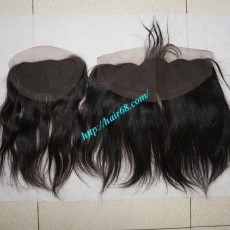 Free Part Lace Closure 7x4 18 inches Vietnamese Straight Hair