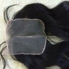 14 inches Middle Part Wavy Lace Closure 4x4