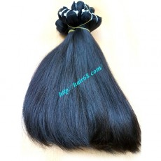 8 INCH STRAIGHT WEAVE HAIR SUPER DOUBLE