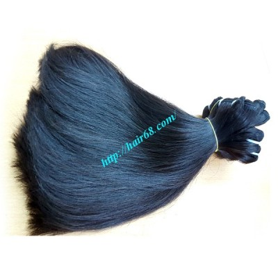 12 INCH STRAIGHT WEAVE HAIR SUPER DOUBLE