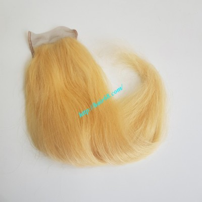 18 inches Free Part Lace Closure Vietnamese Hair