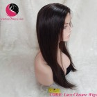 Straight 5x5 Lace Closure Wigs 18 inches 130% Density